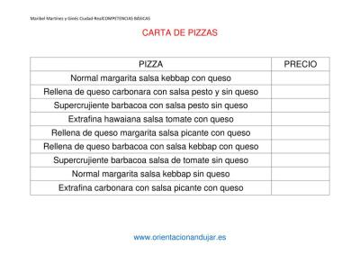 las pizzas de orientacion anduajr