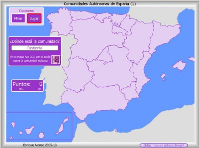 Comunidades Autónomas de España DONDE ESTA