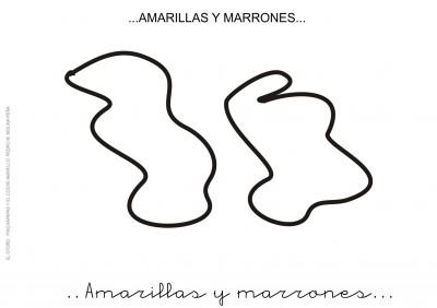 1. AMARILLAS Y MARRONES