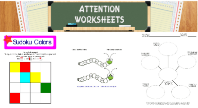 IMGEN DESTADACA ATTENTION WORKSHEET
