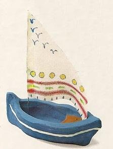 barco de plastilina
