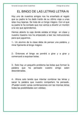 EL BINGO DE LAS LETRAS LETRA N imagenes_01