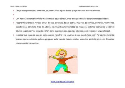 SUGERENCIAS DIDACTICAS PARA EL OTOÑO ORIENTACIÓN ANDUJAR imagen 3