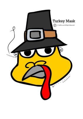 TURKEY MASK