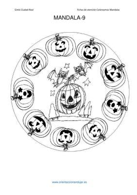 coleccion de mandalas de halloween IMAGENES_10