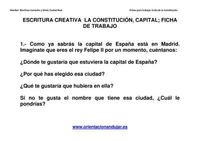 Escritura creativa la constitución Primaria y secundaria imagen 4