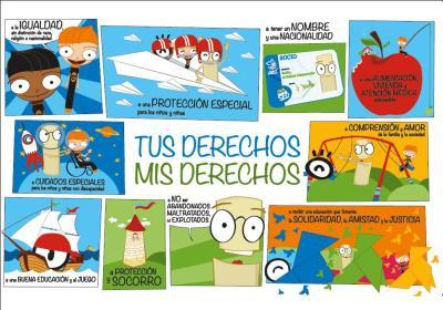 derechos del niño carteles para el 20 noviembre