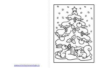 Christmas de Navidad para colorear (1)