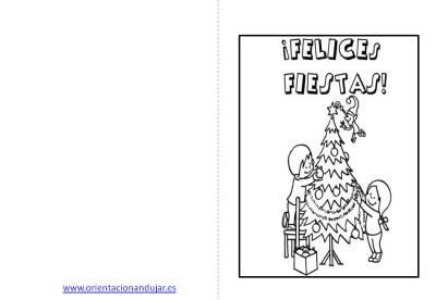 Christmas de Navidad para colorear (6)