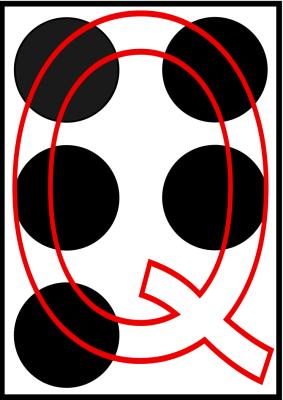 braille letra Q