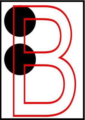 braille letra b