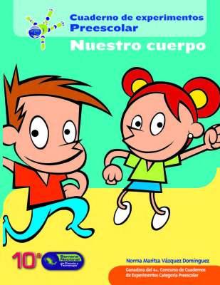 Cuaderno de Experimentos de Educación Infantil NUESTRO CUERPO portada