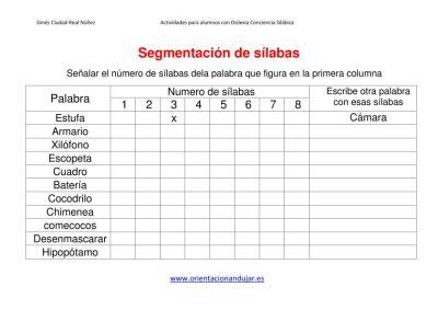 Ejercicios dislexia segmentacion de sílabas IMAGENES_1
