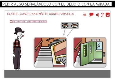 PEDIR ALGO SEÑALÁNDOLO CON EL DEDO O CON LA MIRADA