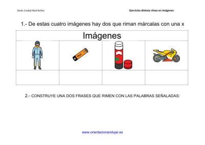 Actividades de rimas para alumnos con dislexia imagenes_6