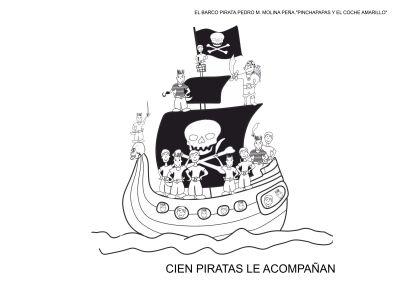 fichas para colorear el barco pirata carnaval (9)
