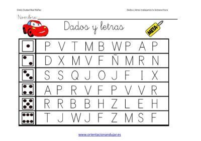 Dados y letras trabajamos la lectoescritura imagen_2