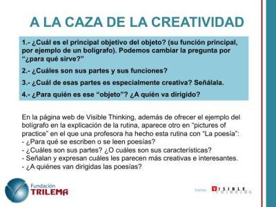 Rutinas de pensamiento  para la creatividad en imagenes_2