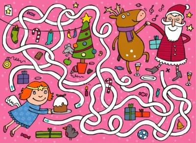 laberinto navidad 1