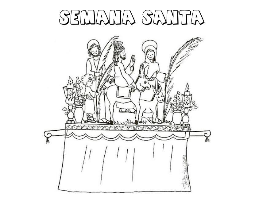 Semana Santa Sevilla Colorear: Orientación Andújar