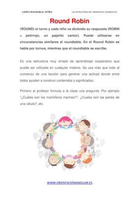 trabajo cooperativo Round Robin imagenes_1