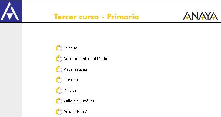 Recursos Interactivos Anaya Segundo Ciclo de Primaria -Orientacion ...