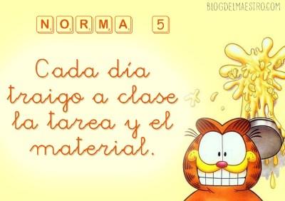 NORMAS DE CLASE 5