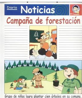 laminas redaccion campaña forestacion