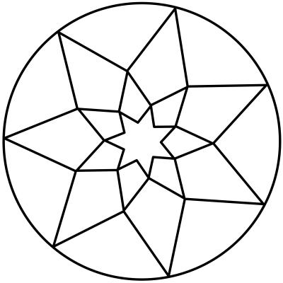 mandala estrella 10