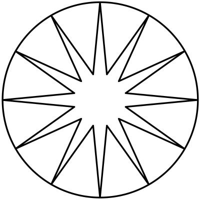 mandala estrella 2