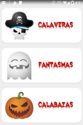 Terrorífico y divertido Memory de Halloween para Android APP gratuita