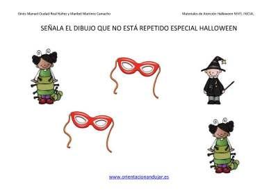 Señala EL DIBUJO QUE NO ESTA REPETIDO HALLOWEEN NIVEL INICIAL_Page_02