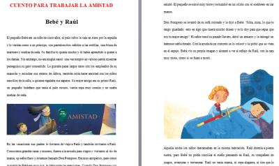 CUENTO AMISTAD BEBE Y RAUL