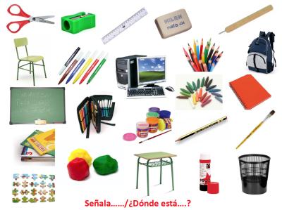 PRUEBA LÉXICO – SEMÁNTICA El colegio