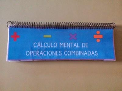 Material Manipulativo El libro movil de las operaciones combinadas Editable 1