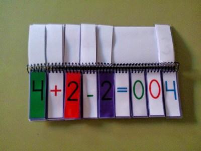 Material Manipulativo El libro movil de las operaciones combinadas Editable 3