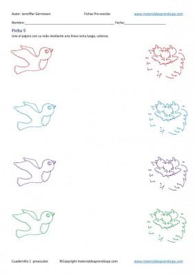 Cuadernillo de actividades de educación preescolar 1 en imagenes (5)