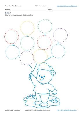 Cuadernillo de actividades de educación preescolar 1 en imagenes (7)
