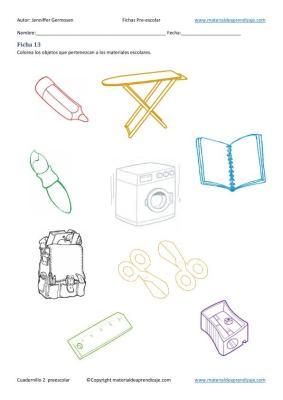 Fichas cuaderno 2 educacion preescolar  en imagenes_14