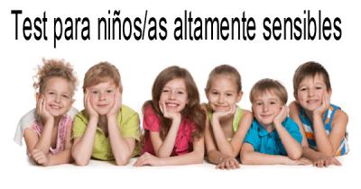 Test para chicos y chicas altamente sensibles
