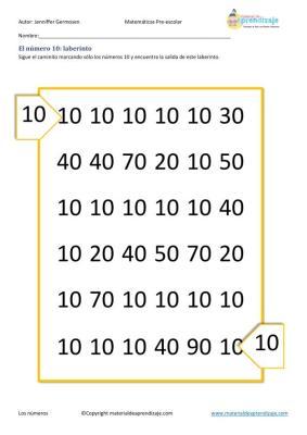 aprendemos a contar en preescolar imagenes_39