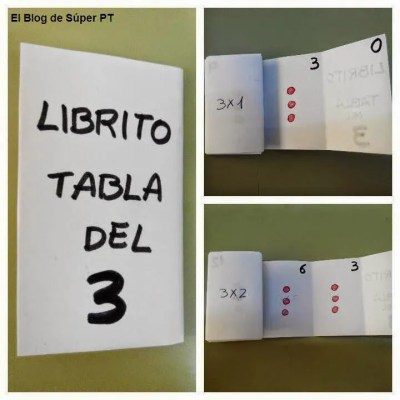 libro enrollable tablas 10