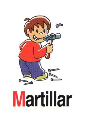 martillar