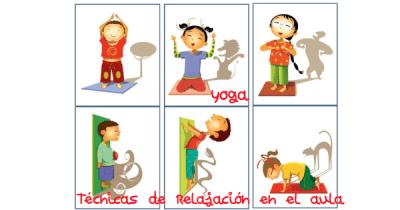 yoga tecnicas de relajacion en el aula