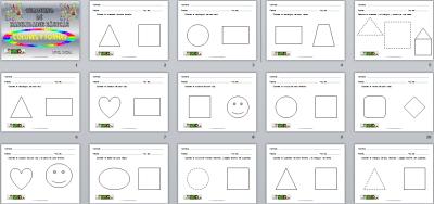 Cuaderno de Habilidades básicas colores y formas nivel nivel inicial