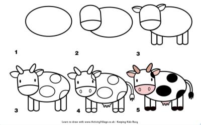 Aprendemos A Dibujar Paso A Paso Animales Y Muchas Cosas Mas