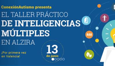 curso inteligencias multiples y tic con conexion autismo Alzira portada