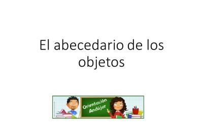 El abecedario de los objetos listo para imprimir (1)