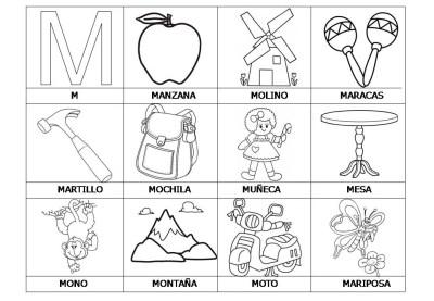 El abecedario de los objetos listo para imprimir (16)