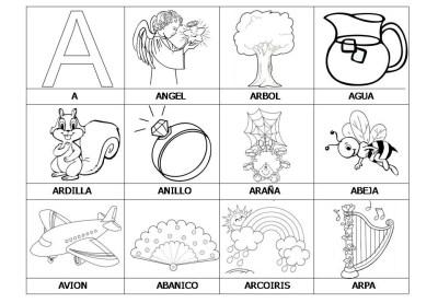 El abecedario de los objetos listo para imprimir (2)